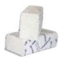 Prosoape ZZ albe 2str 160 buc/set 20 set/bax